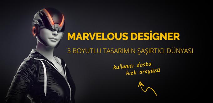 Clo 3D Marvelous Designer Eğitimi ve Kursu