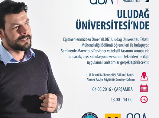 Marvelous Designer Seminerleri – Uludağ Üniversitesi